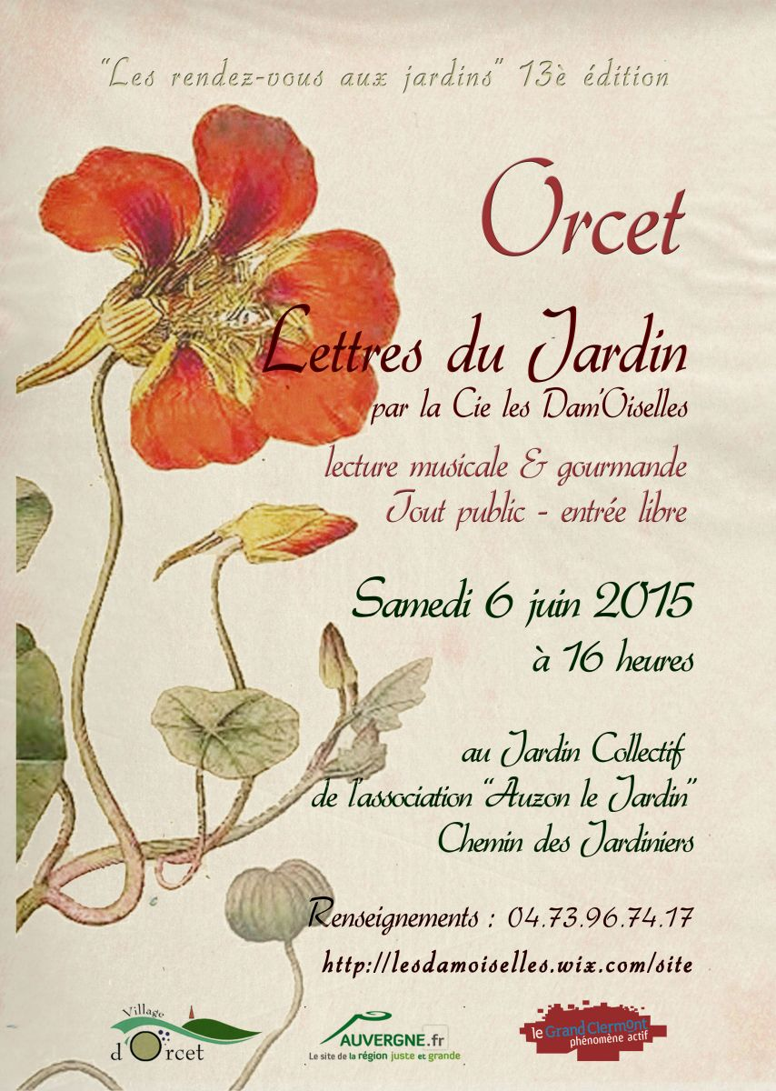 Le grand clermont ph nom ne actif les dam oiselles orcet - Fiche de lecture effroyables jardins ...